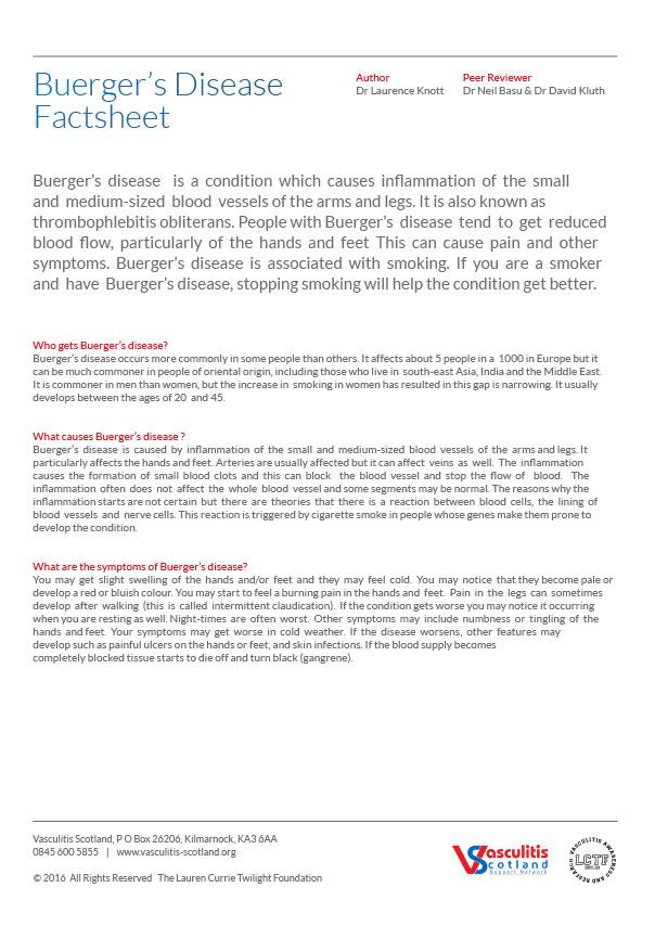 buergers-disease-factsheet
